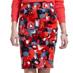 Anthropologie Vanessa Viginia pencil skirt floral